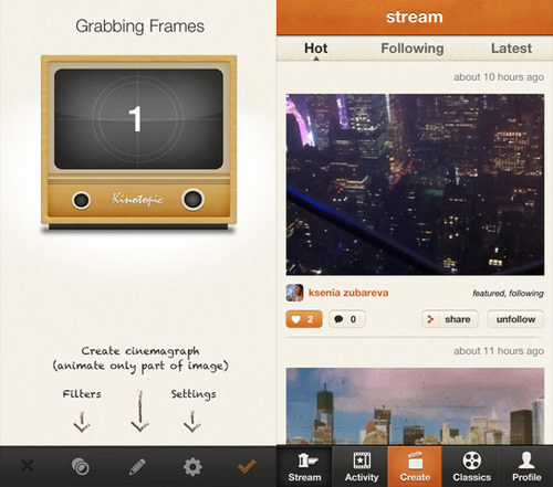 Kinotopic App