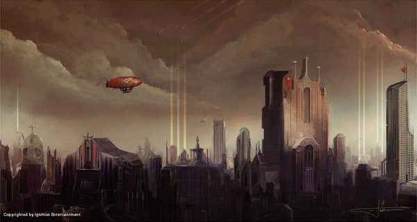 Cityscape by Erenarik