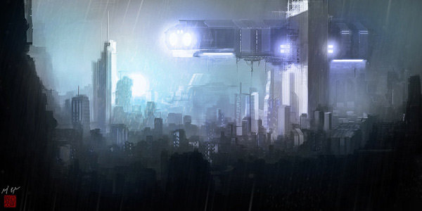 Rainy Dawn by Voyager212