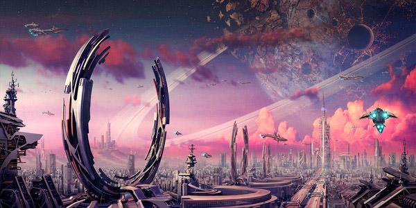 Mirai Millennium SF BG by Pinakes