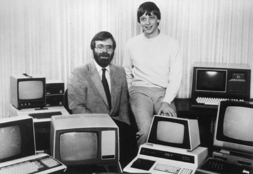 Microsoft co-founders, 1975