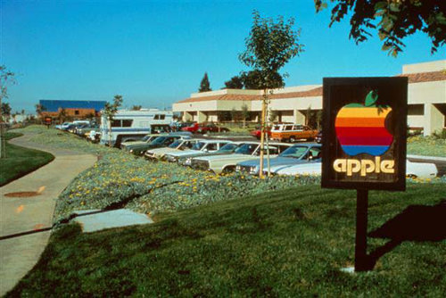 Apple HQ in Cupertino, 1981