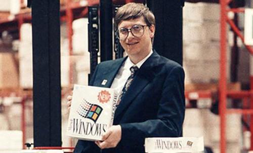 Windows 3.0 launch, 1990