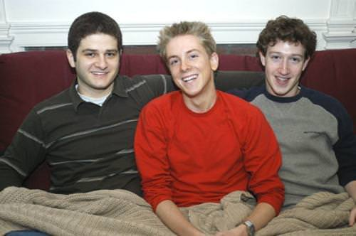 Facebook co-founders, 2004