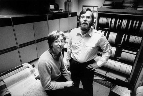 Microsoft co-founders, 1981