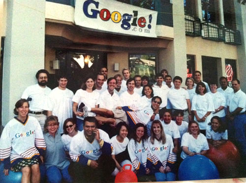First Google Team, California 1999