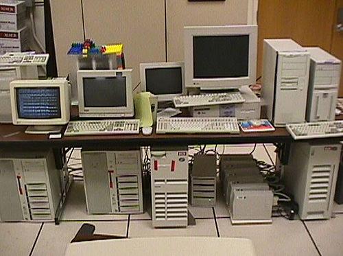 The original Google platform, 1998