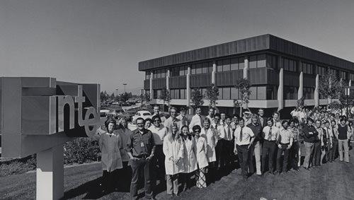 Intel Santa Clara facility, 1970