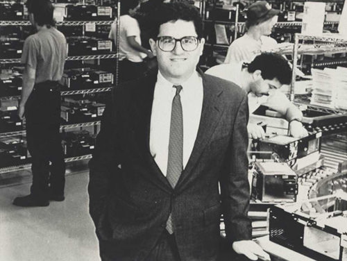 DELL production facility, circa 1989