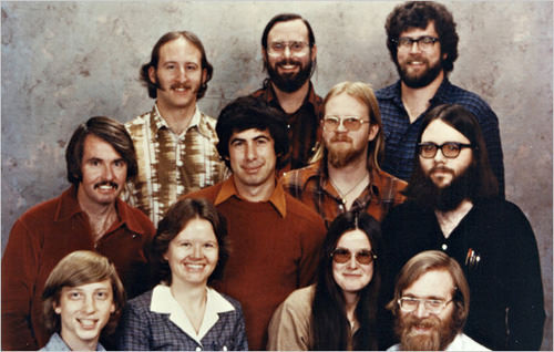 First 11 Microsoft members, 1978