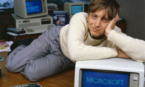 Young Bill Gates, 1985