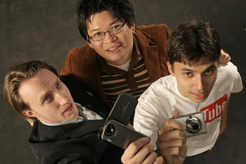 YouTube Founders, 2005