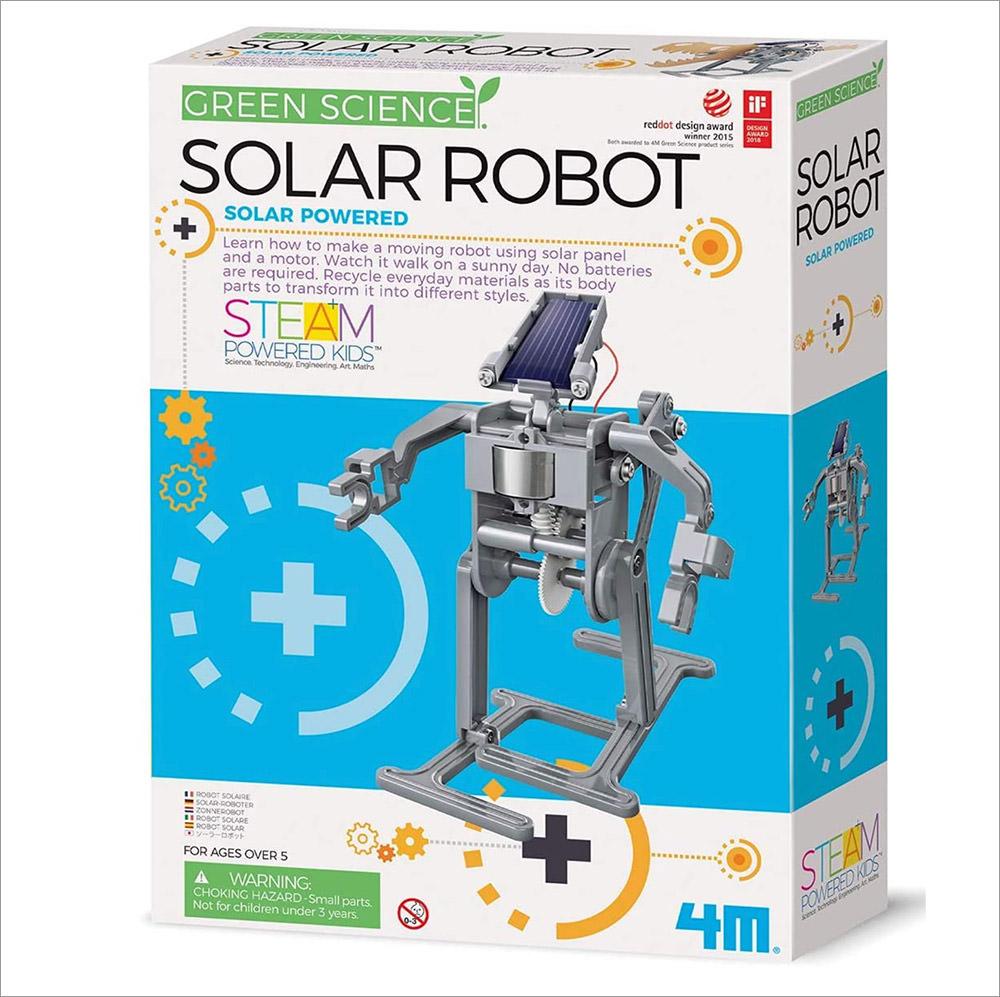 4M Green Science Solar Robot Kit