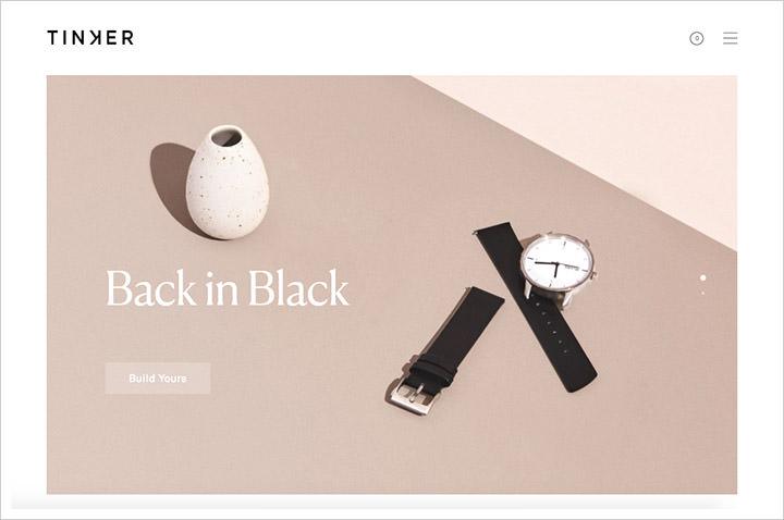 minimalist web design
