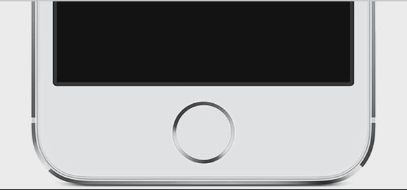 hold home button