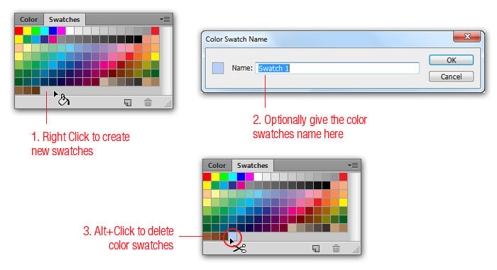 Add New Colors to Swatch