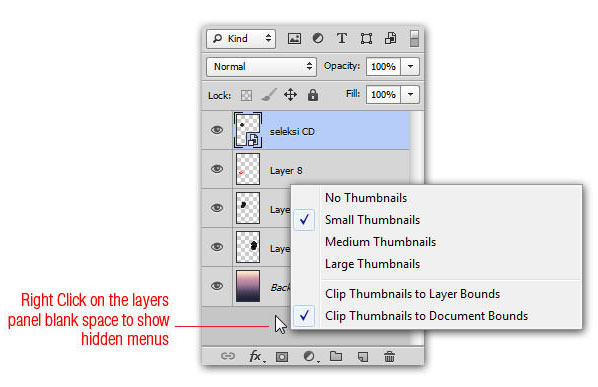 Clip Thumbails Layer Bounds