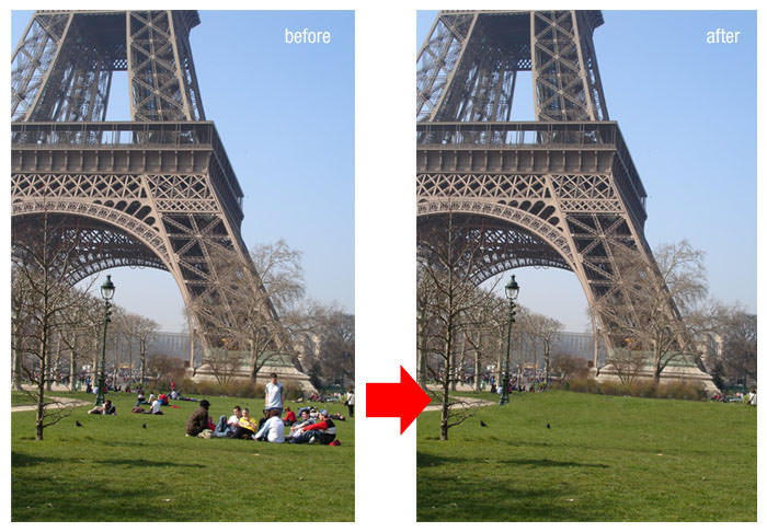 Remove Unwanted Objects from Photos