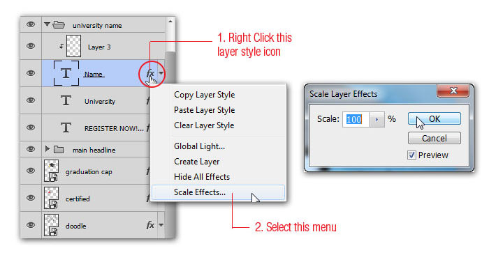 Scale Layer Style Effects