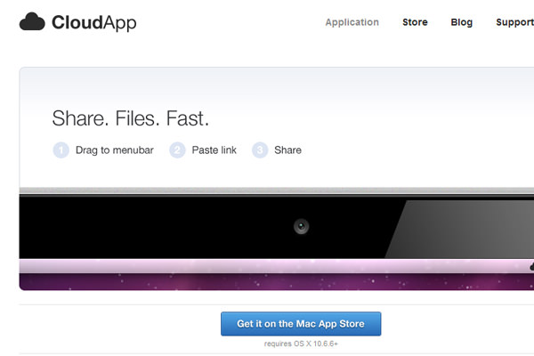 Get CloudApp OSX and Windows homepage