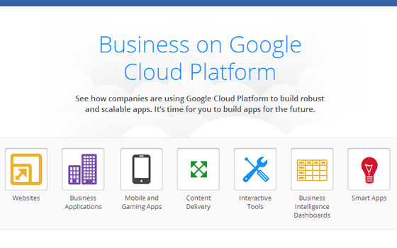 Cloud Hosting by Google for Businesses Startups Mobile Website Case Studies