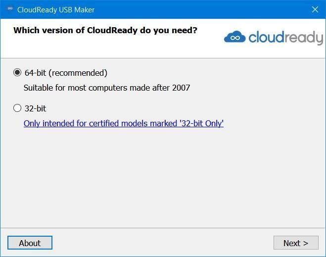 USB Maker for CloudReady