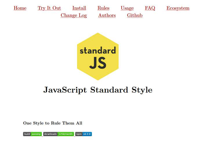 StandardJS