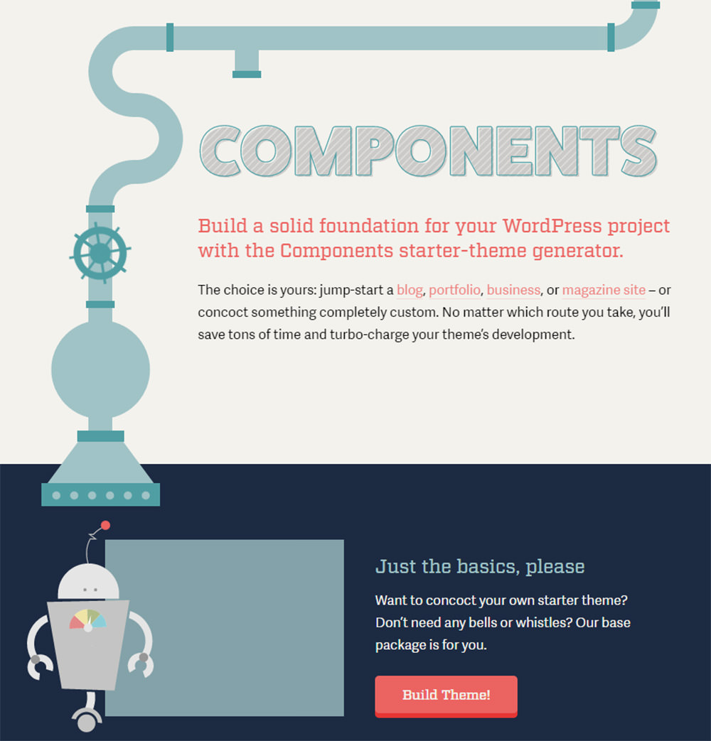components homepage