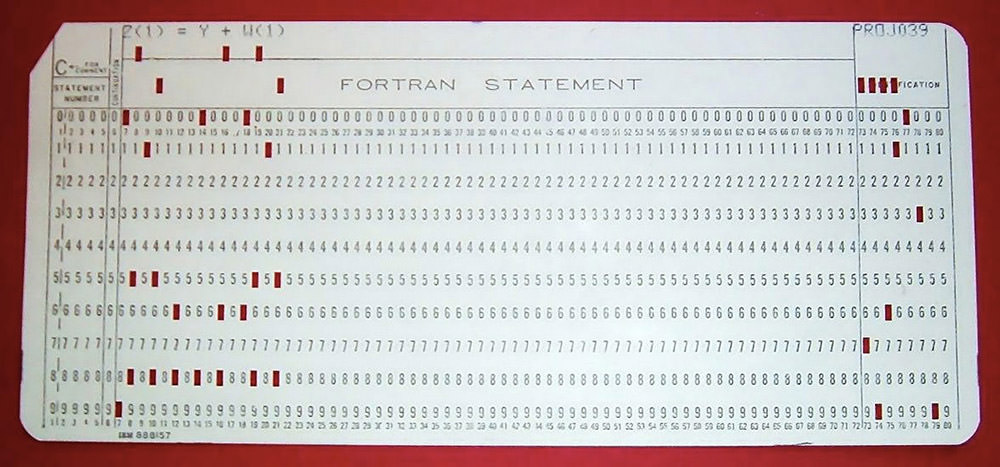 fortran-punch-card