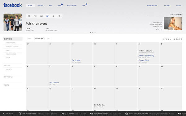 facebook events page by barton smith