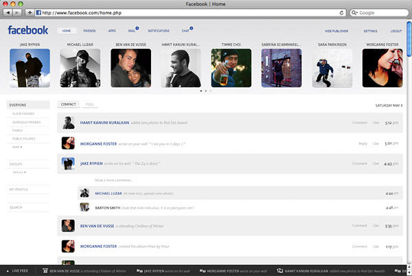 facebook notifications page by barton smith