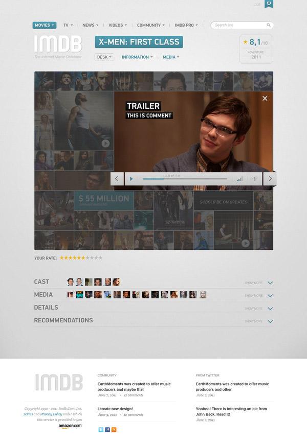 imdb player popup component by vladimir kudinov