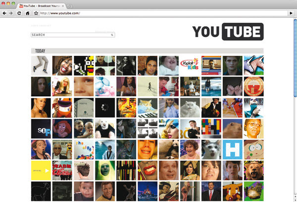 youtube main page by michele byrne