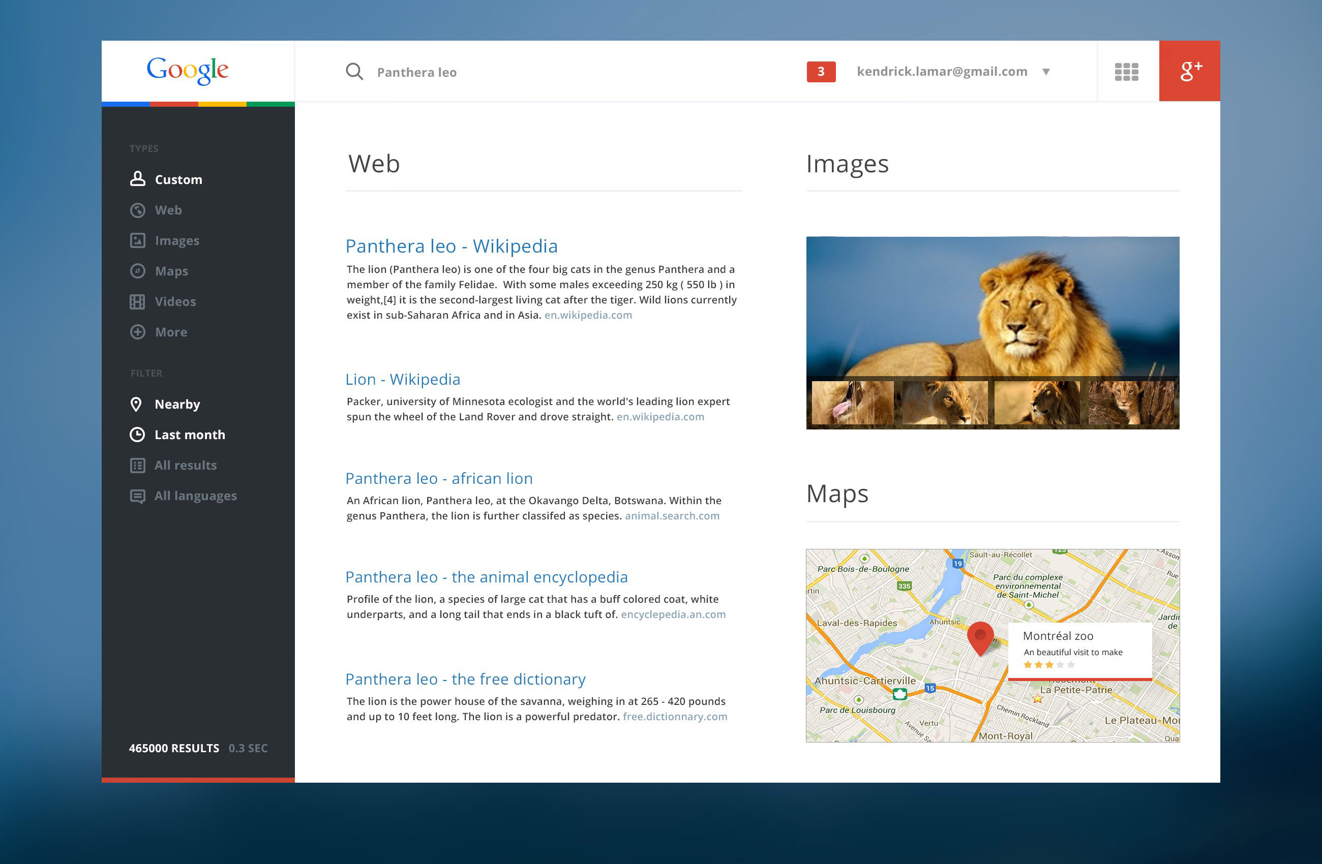 google website redesign
