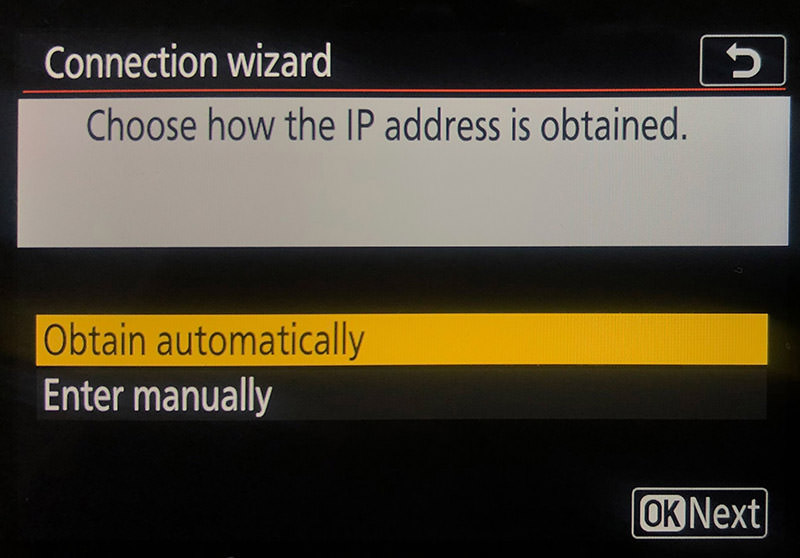 obtain IP automatically