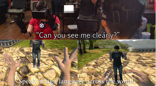 Virtual Reality Sign Language