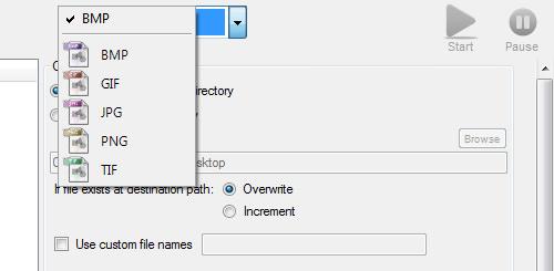 convert images format