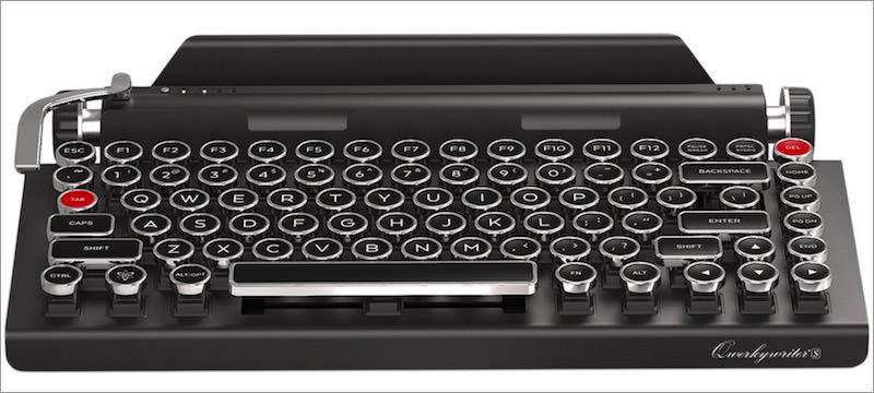 Qwerkywriter-S-typewriter-inspired-keyboard