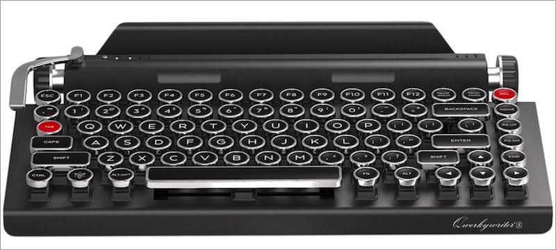 Qwerkywriter-S-typewriter-inspired-keyboard