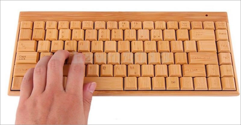 smart-tech-natural-bamboo-keyboard