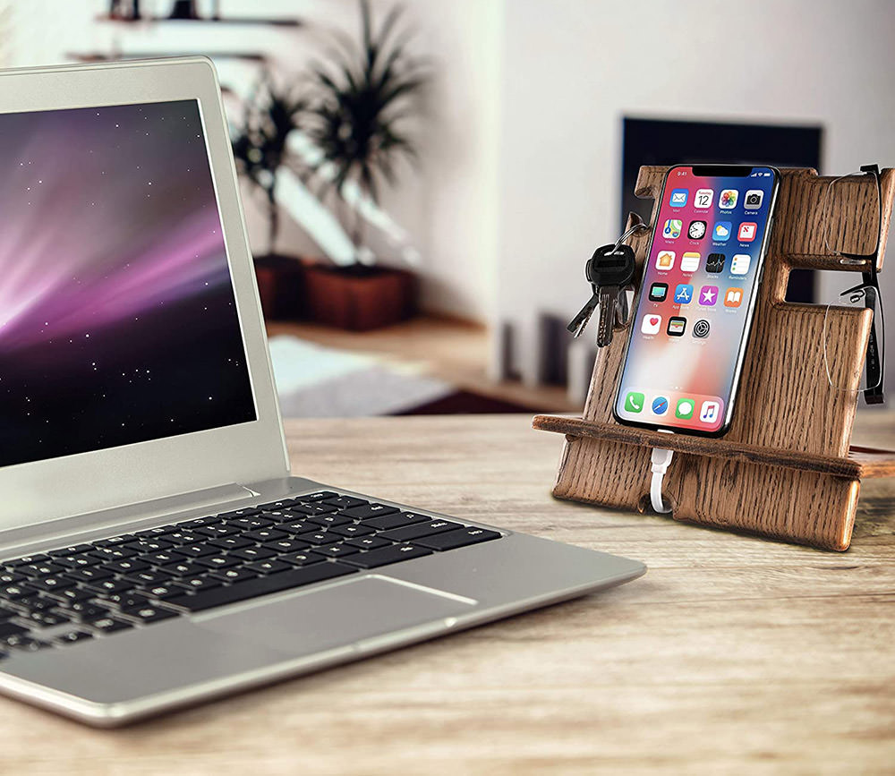 KROLLWOOD-Wooden-Phone-Stand