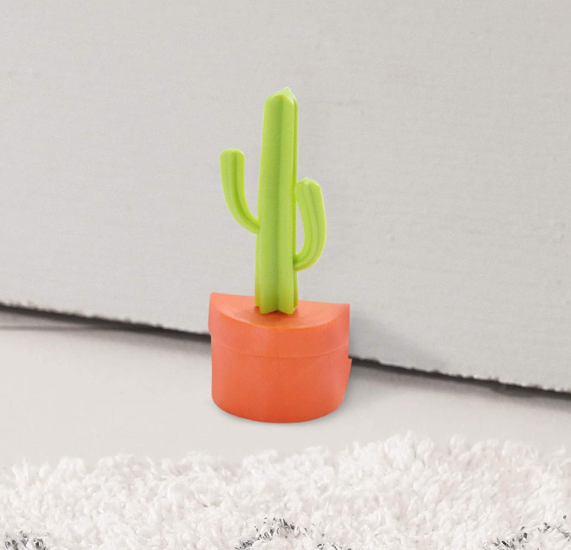 Cactus and Flowers Door Stopper