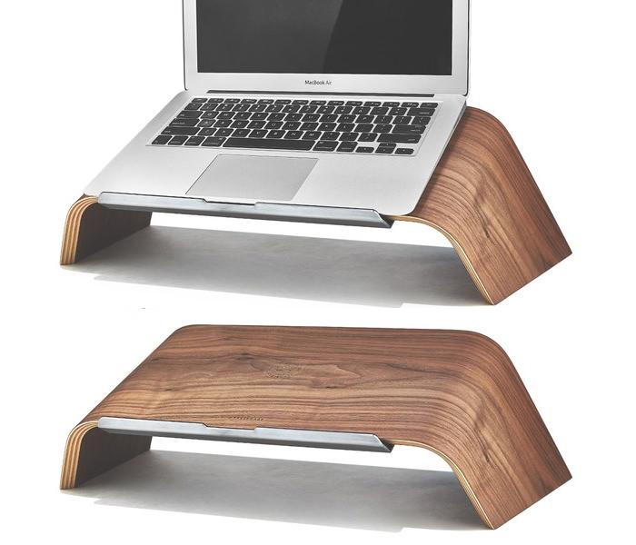 Walnut Laptop Stand