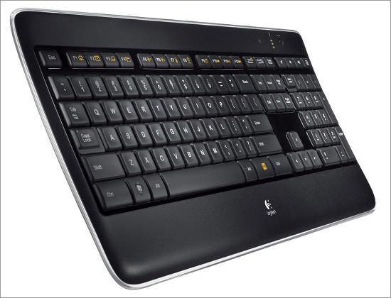 LogitechIlluminated keyboard