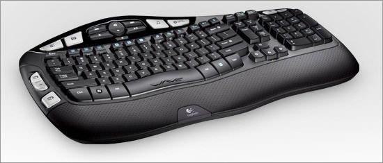 LogitechWirelessK350 keyboard