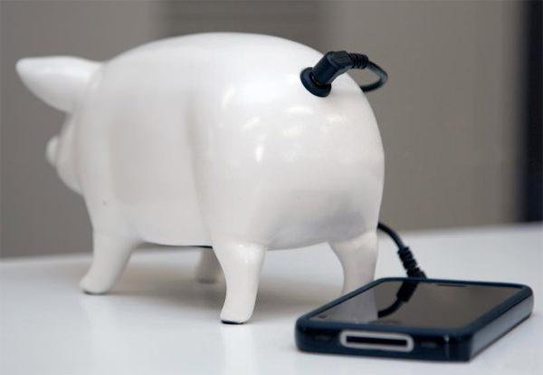 I.D.E.A: Pig Speakers