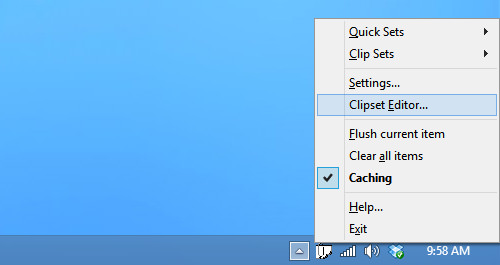 Clipomatic Permanent Settings