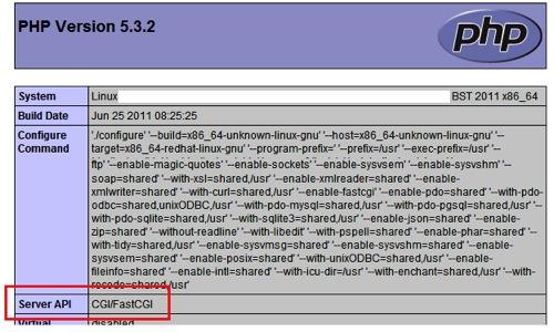 Server API