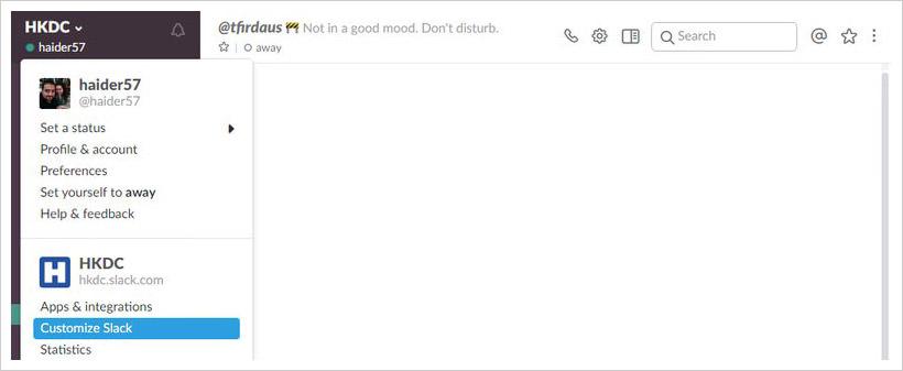 create emojis in slack