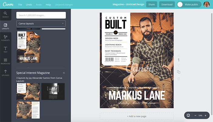 9 Sites To Create Your Own Magazine Cover - Hongkiat